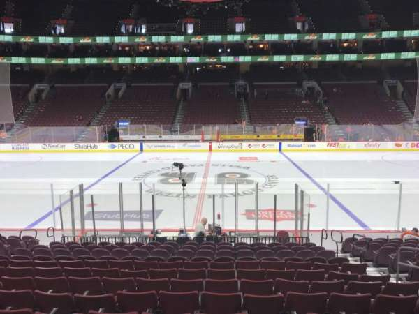 Wells Fargo Center, section: 101, row: 14, seat: 7