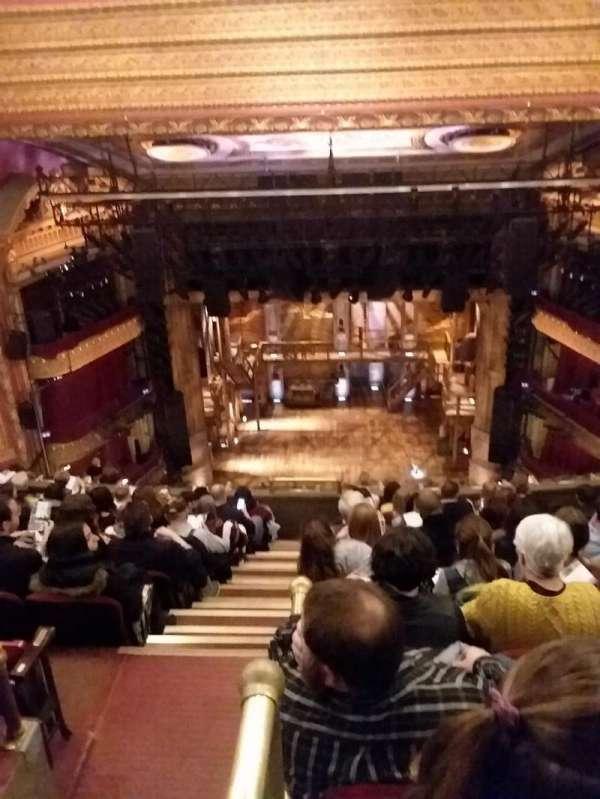 CIBC Theatre, section: BALCRC, row: K, seat: 402