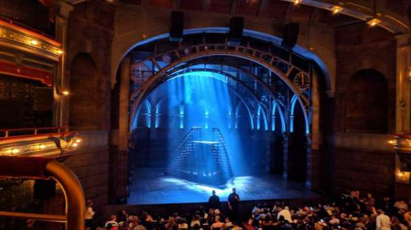 Lyric Theatre, section: Dress Circle Center, row: A, seat: 101