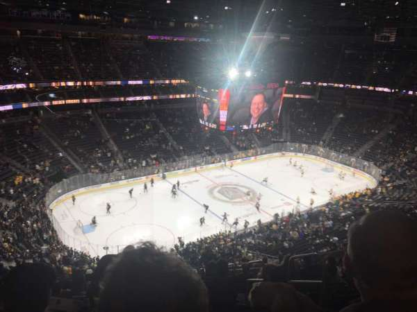 T-Mobile Arena, section: 201, row: R, seat: 8