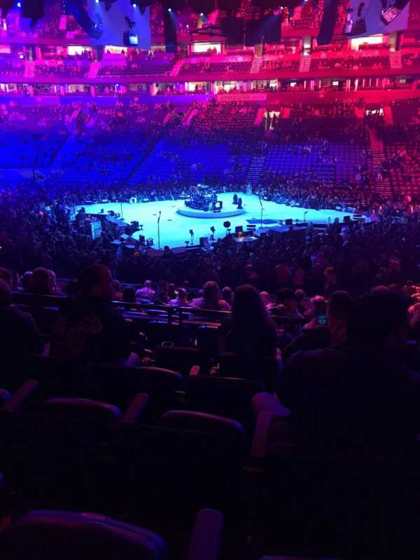 Bridgestone Arena, section: 106, row: E, seat: 9
