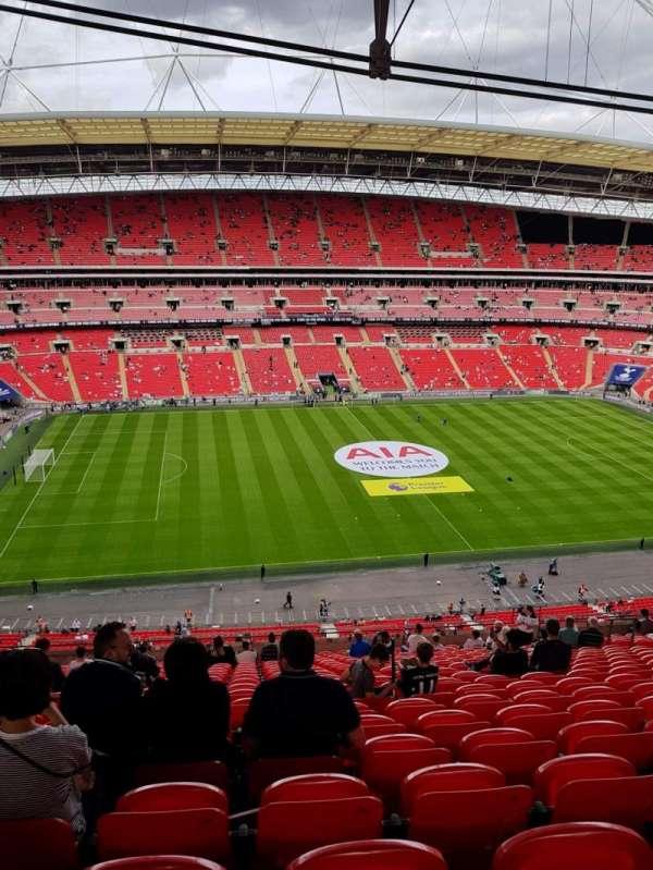 Wembley Stadium, section: 529, row: 21, seat: 62