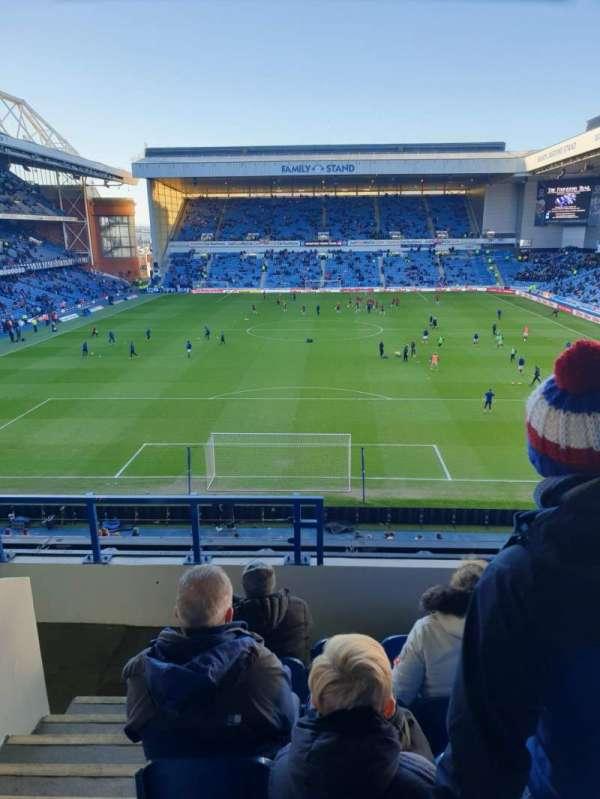 Ibrox Stadium, section: CR3, row: G, seat: 76