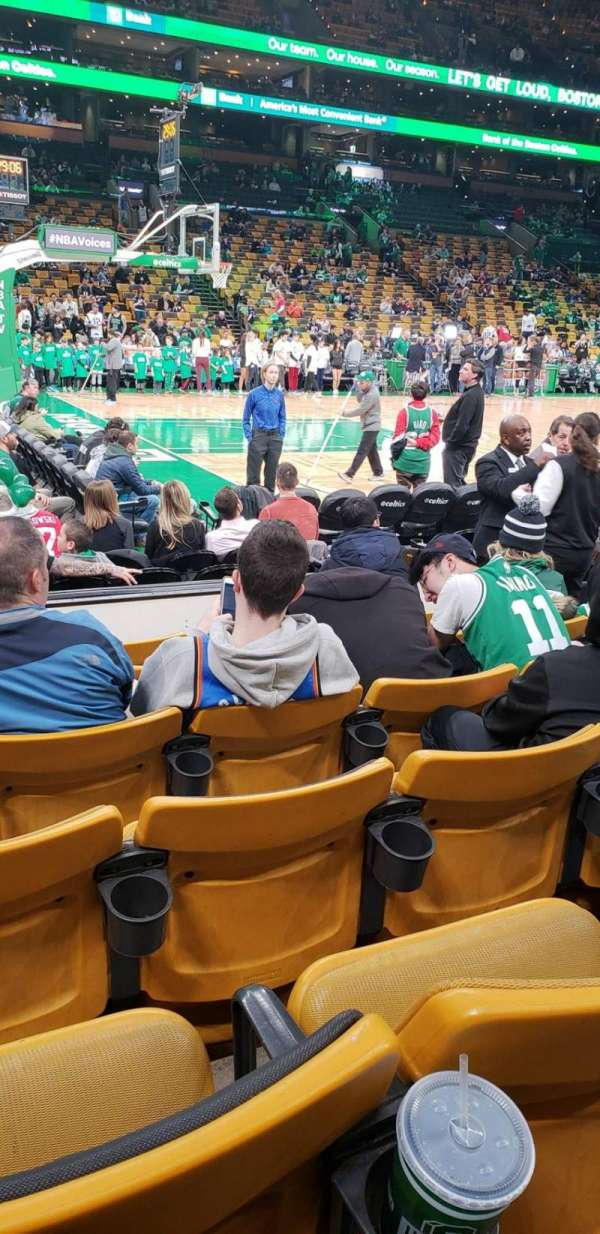 Td garden, section: Loge 14, row: 6, seat: 7
