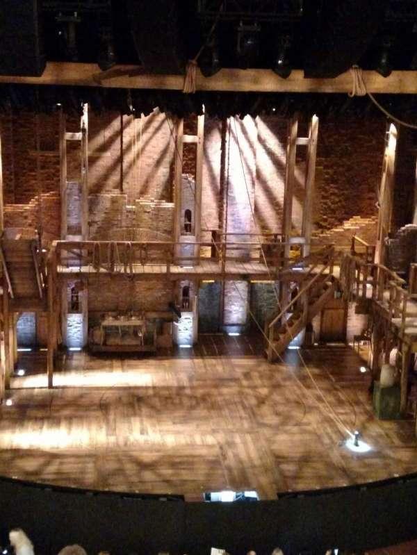 CIBC Theatre, section: Mezzanine LC, row: F, seat: 307 and 309