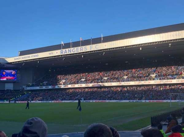 Ibrox Stadium , section: SE1, row: H, seat: 0019