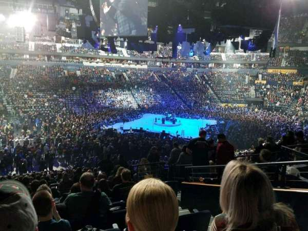 Bridgestone Arena, section: 114, row: n, seat: 3