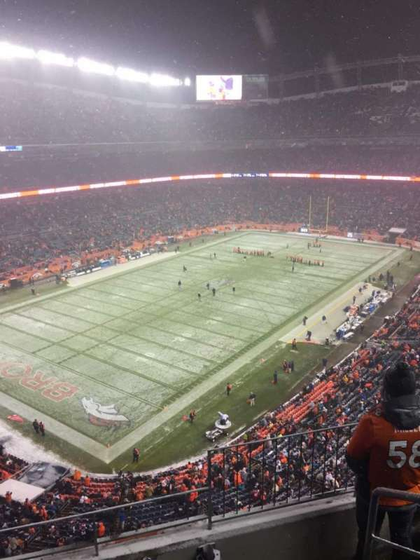 Broncos Stadium at Mile High, section: 542, row: 4, seat: 1