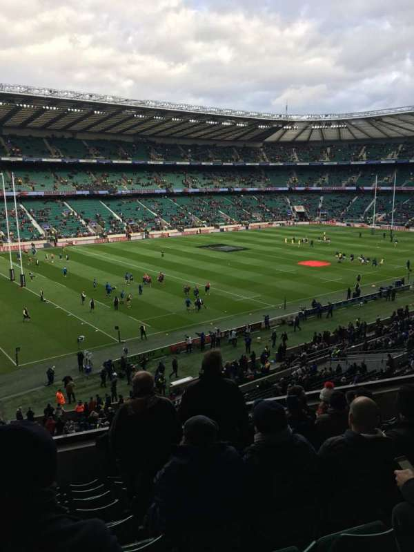 Twickenham Stadium, section: M12, row: 60, seat: 334