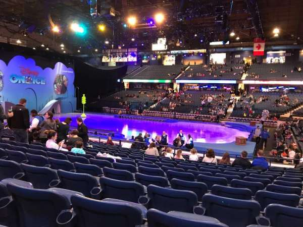 Allstate Arena, section: 101, row: N, seat: 13