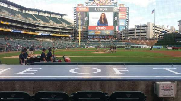 Comerica Park, section: 123, row: 10, seat: 2
