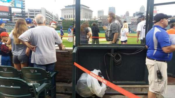 Comerica Park, section: 128, row: 4, seat: 1