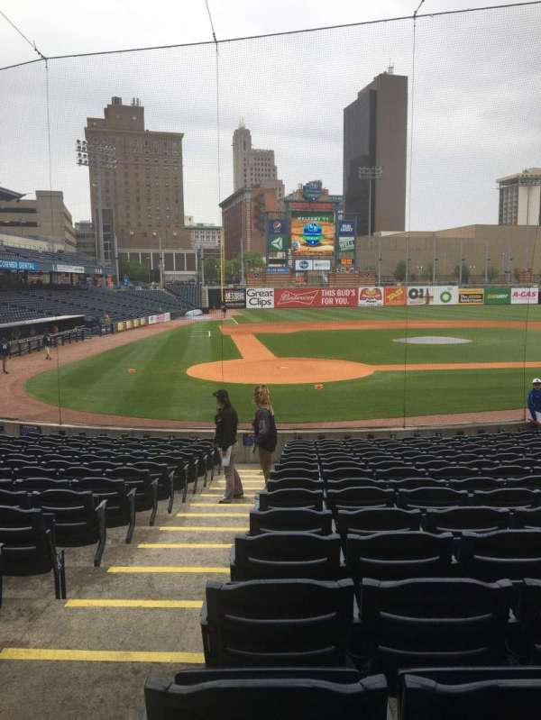 Fifth Third Field, section: 113, row: S, seat: 18
