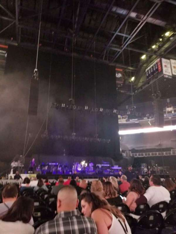 Talking Stick Resort Arena, section: C, row: 19, seat: 8