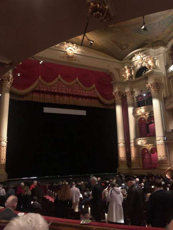 Academy of Music, section: Parquet Circle F, row: U, seat: 11