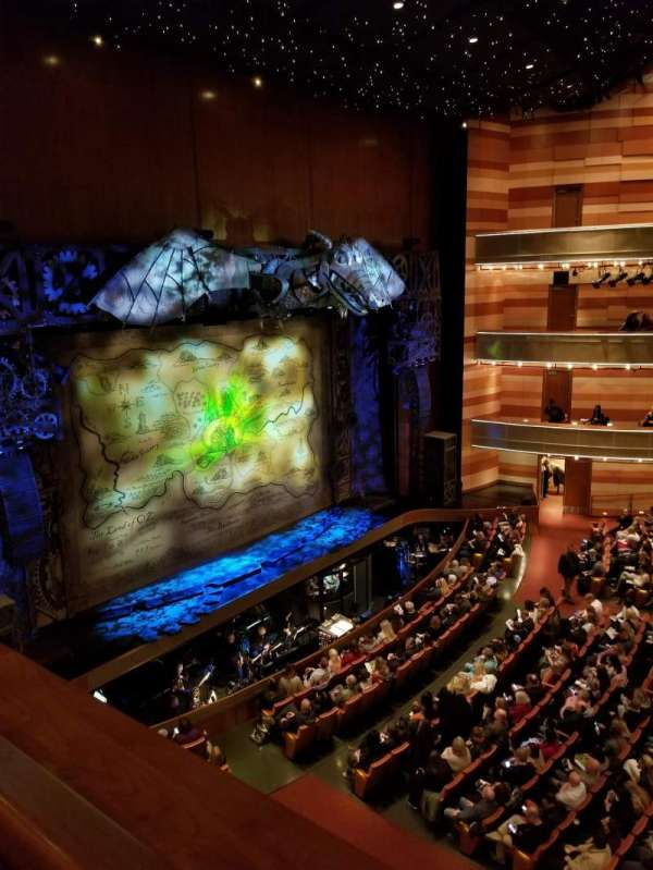 Eccles Theater, section: Box K, seat: 4