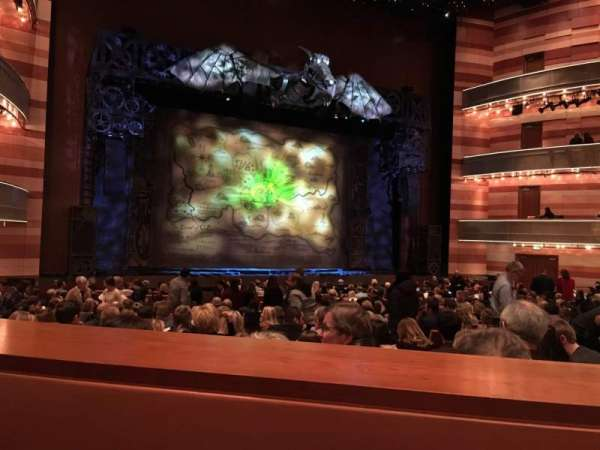 Eccles Theater, section: Orchestra, row: SS, seat: 116