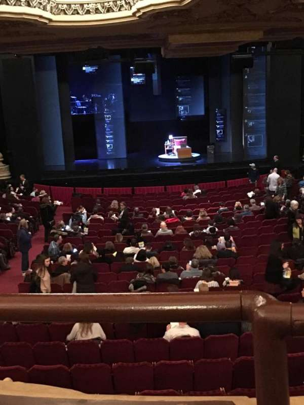 Nederlander Theatre (Chicago), section: Dress Circle, row: A, seat: 202