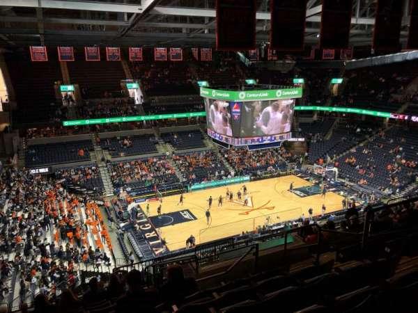 John Paul Jones Arena, section: 315, row: S, seat: 6