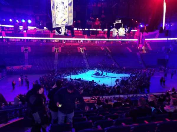 Bridgestone Arena, section: 105, row: N, seat: 15