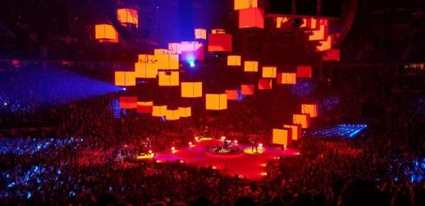 Bridgestone Arena, section: 105, row: N, seat: 15