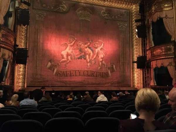 Theatre Royal Haymarket, section: Stalls, row: O, seat: 15