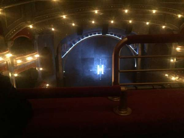 Lyric Theatre, section: Balcony L, row: A, seat: 1