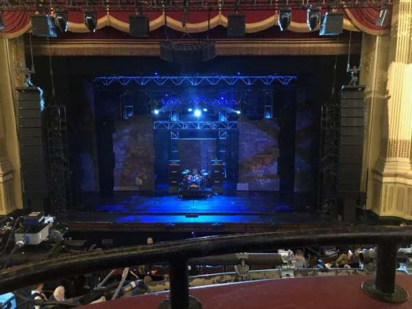 Citizens Bank Opera House, section: DRSCTR, row: AA, seat: 103