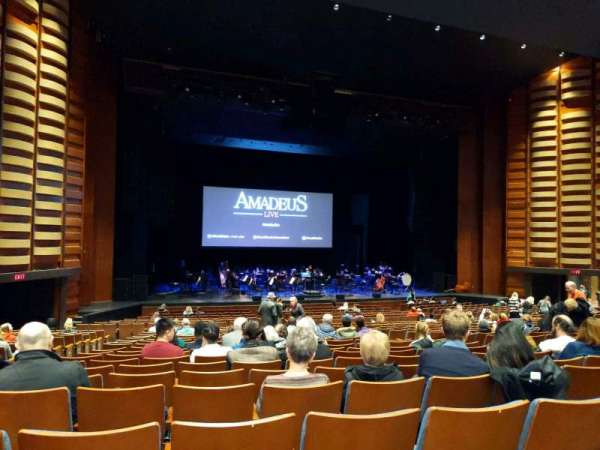 Sony Centre for the Performing Arts, section: orch, row: V, seat: 24