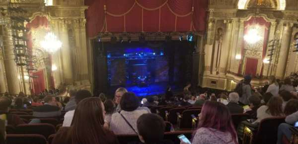 Boston Opera House, section: MEZLFT, row: O, seat: 5