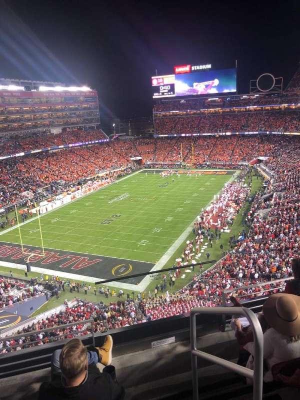 Levi's Stadium, section: 323, row: 4, seat: 1