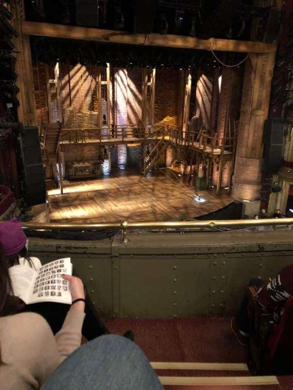 CIBC Theatre, section: Mezz-L, row: C, seat: 1