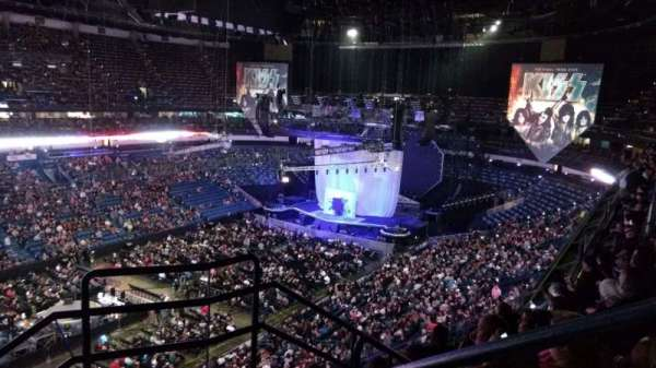 Smoothie King Center, section: 304, row: 6, seat: 1