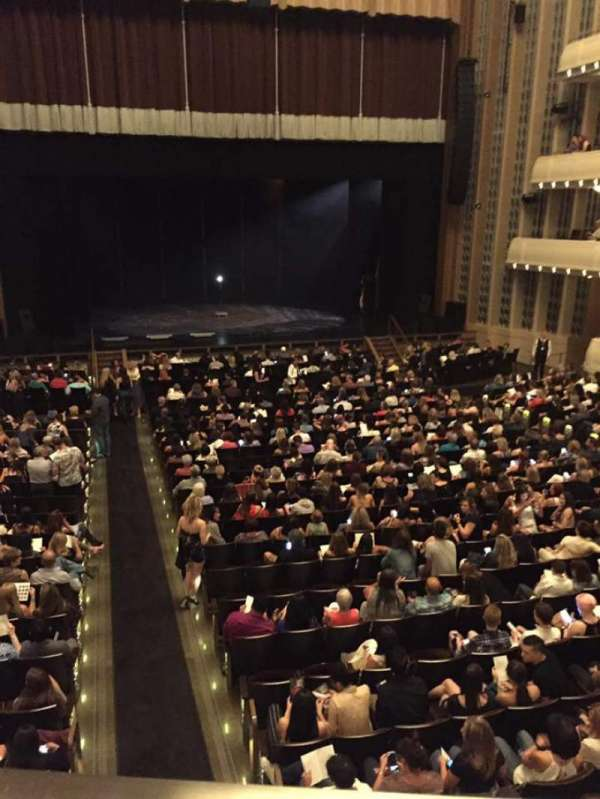 The Smith Center, section: Box Tier, row: A, seat: 3