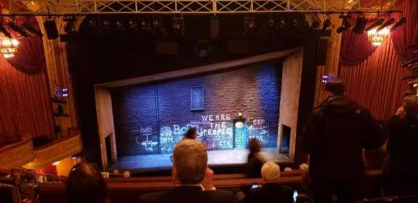Bernard B. Jacobs Theatre, section: Balcony, row: J, seat: 111