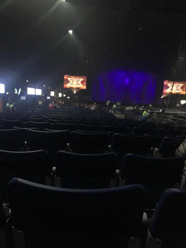 SSE Arena, Wembley, section: D4, row: 5, seat: 47