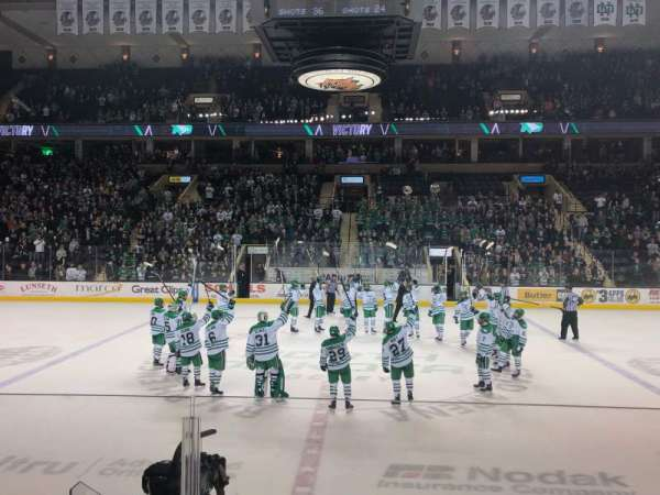 Ralph Engelstad Arena, section: 116, row: E, seat: 22