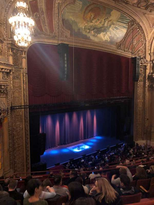 Chicago Theatre, section: Balcony, row: F, seat: 113