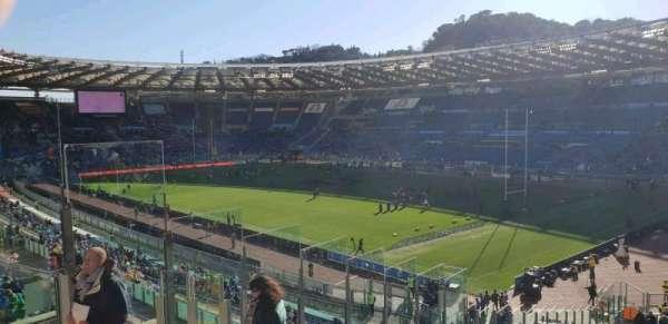 Stadio Olimpico, section: 43, row: 48, seat: 7s