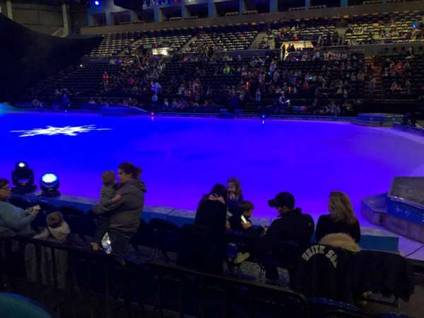 BMO Harris Bank Center, section: 119, row: D, seat: 2