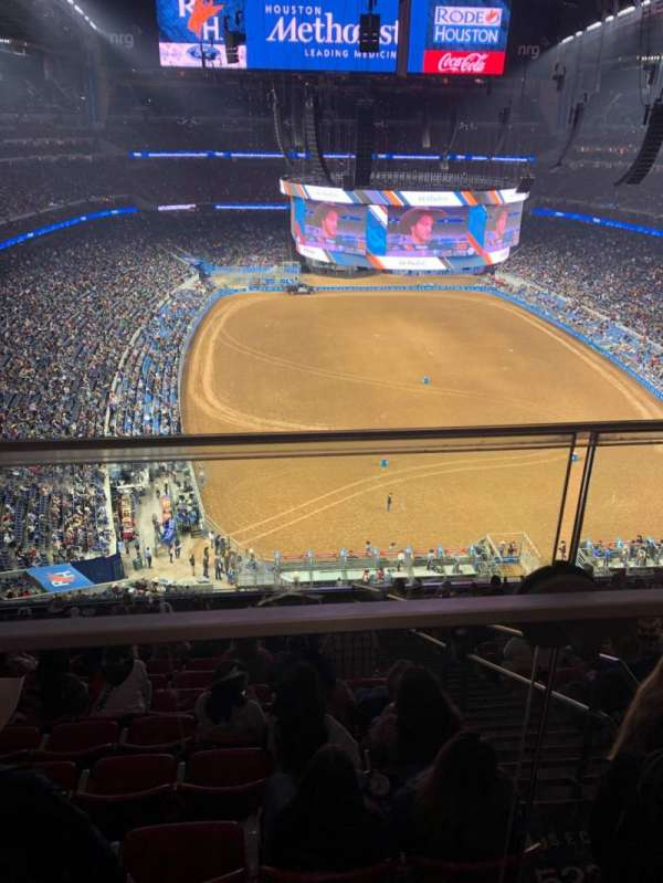 NRG Stadium, section: 623, row: A, seat: 17