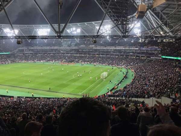London Stadium, section: 242, row: 50