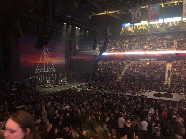 Mohegan Sun Arena, section: 24, row: Q, seat: 20