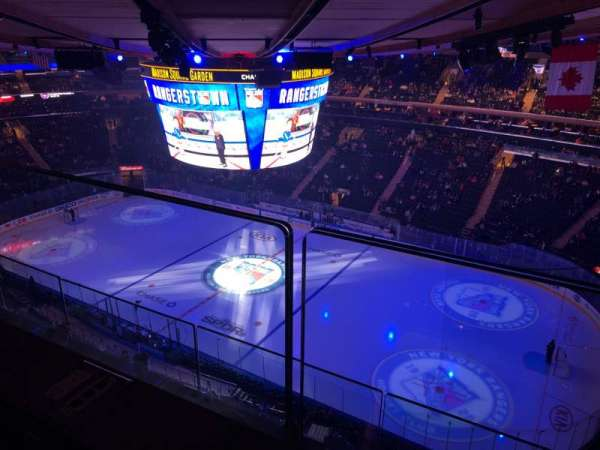 Madison Square Garden, section: 327, row: 2, seat: 25