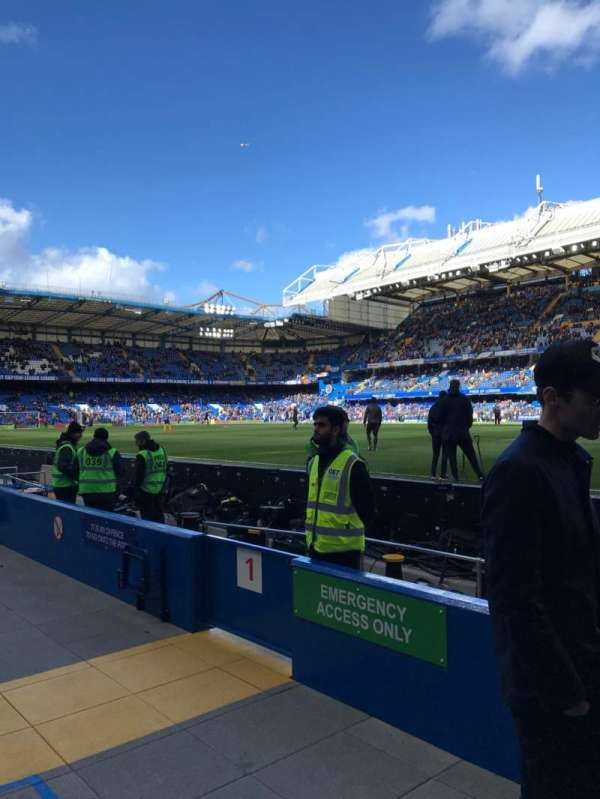 Stamford Bridge, section: WL1, row: 1, seat: 146