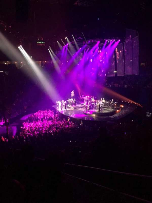 T-Mobile Arena, section: 16, row: S, seat: 22