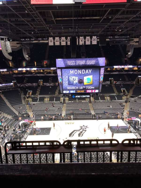 AT&T Center, section: 208, row: 5, seat: 15