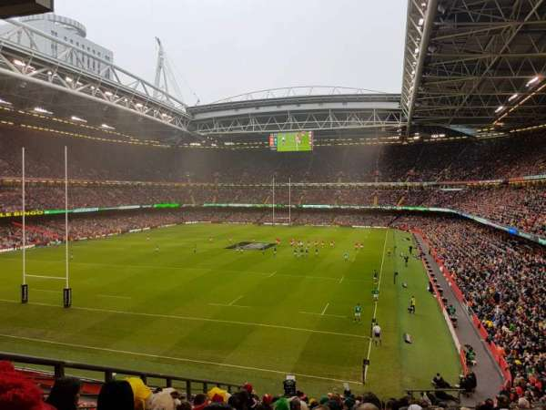 Principality Stadium, section: M38, row: 14, seat: 6