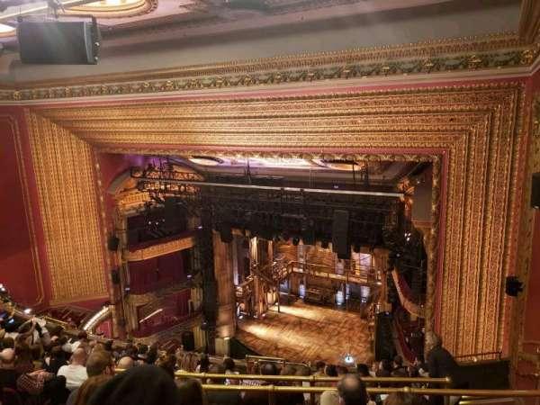 CIBC Theatre, section: Balcony R, row: L, seat: 12