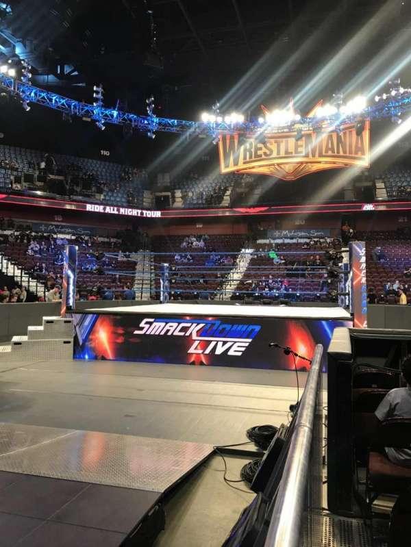 Mohegan Sun Arena, section: 7, row: G, seat: 1